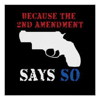 2do Poster de la enmienda Perfect Poster