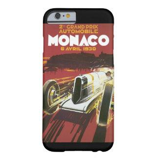 2do Poster del viaje del vintage de Grand Prix Funda De iPhone 6 Barely There