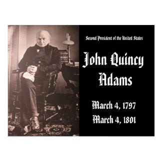 2do Presidente de los Estados Unidos John Adams Tarjetas Postales