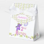 2do Princesa Bear Custom del cumpleaños Paquete De Regalo