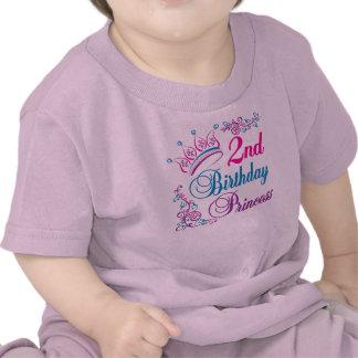 2do Princesa del cumpleaños Camisetas