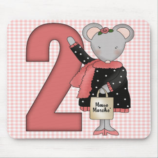 2do Ratón del cumpleaños Alfombrillas De Raton
