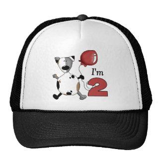 2do Regalo de cumpleaños del perrito del cumpleaño Gorro