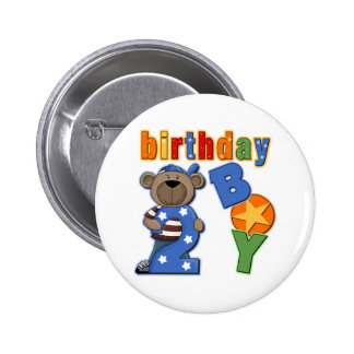 2do Regalo de cumpleaños Pin
