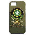 2do Regimiento de caballería iPhone 5 Case-Mate Carcasas