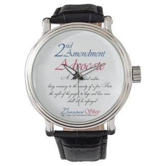 2do Relojes del abogado de la enmienda