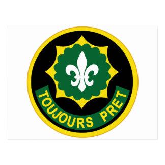 2do Remiendo del color de las insignias del regimi Tarjetas Postales