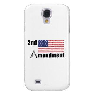 2do Rifles A de AR de la enmienda y bandera