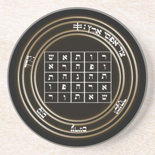 2do sello de Saturno Posavasos Manualidades