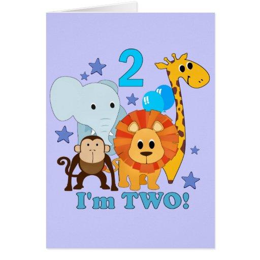 2do Selva del cumpleaños Felicitación