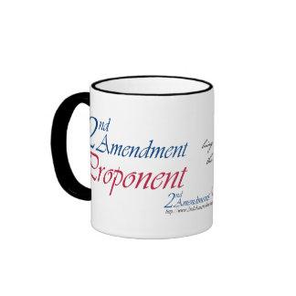 2do Tazas del autor de la enmienda