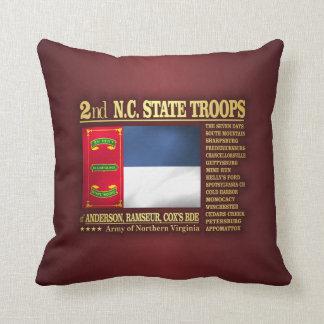 2do Tropas del estado del NC (BA2) Cojín
