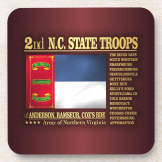 2do Tropas del estado del NC (BA2) Posavasos De Bebidas
