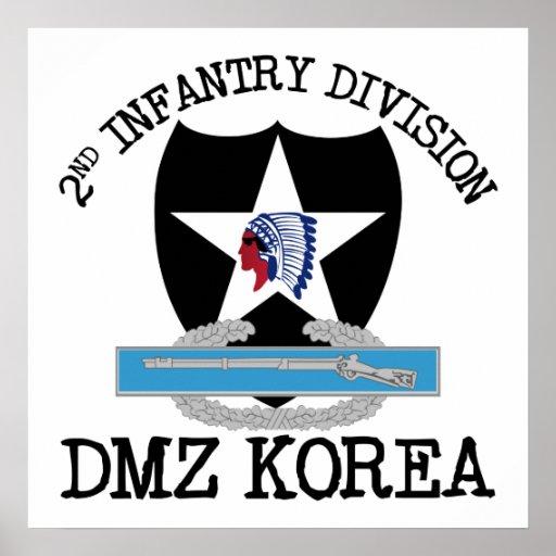 2do Veterinario de la identificación Corea DMZ con Posters