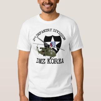 2do veterinario de la identificación de DMZ Corea Camisas