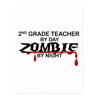 2do Zombi del profesor del grado Postal