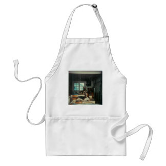 2Dogs_On_Thrones Adult Apron