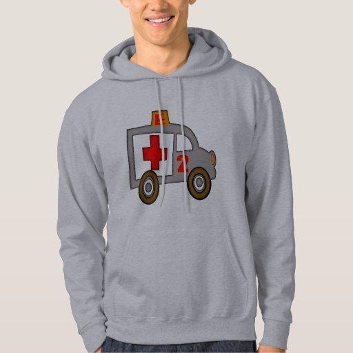 2dos regalos de cumpleaños de la ambulancia jersey con capucha