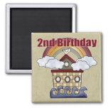 2dos regalos de cumpleaños de la arca iman