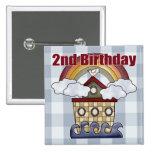 2dos regalos de cumpleaños de la arca pins