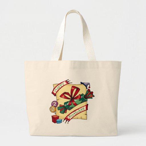 2dos regalos de cumpleaños únicos bolsas