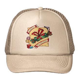 2dos regalos de cumpleaños únicos gorras