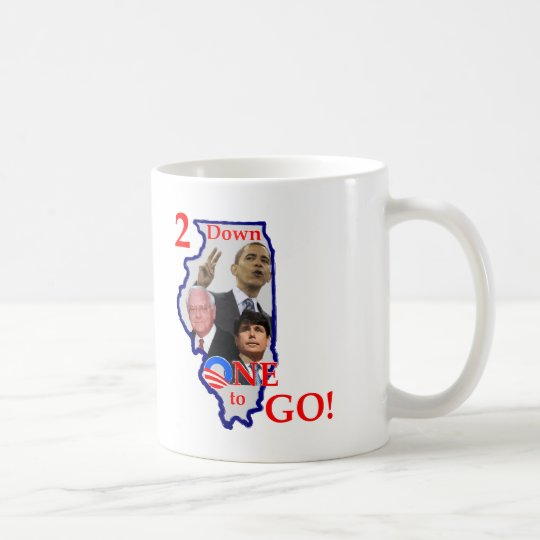 2down One to Go Coffee Mug