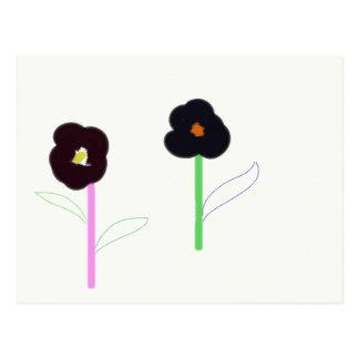 2flowers postcard