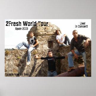 2Fresh World Tour Poster