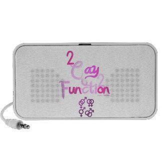 2gay2function Portable Speaker