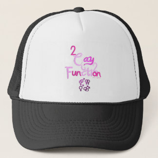 2gay2function trucker hat