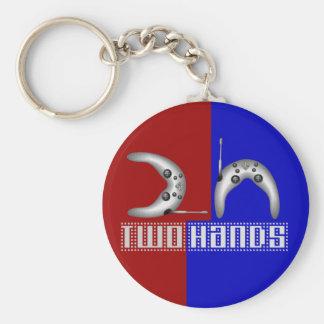 2h (2 hands) key chain