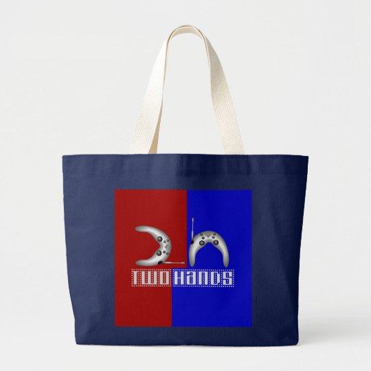 2h (2 hands) large tote bag