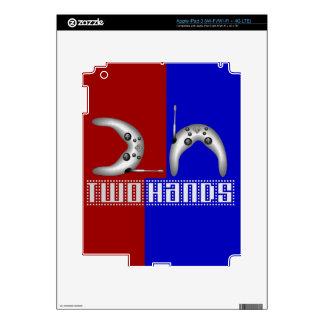 2h (2 manos) pegatina skin para iPad 3