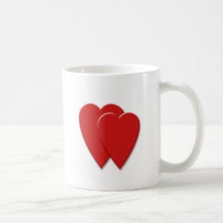 2hearts coffee mug