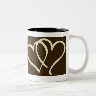 2hearts-Ivory Mug
