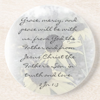 2Jn 1:3  Grace, mercy, and peace will be with us,  Coaster
