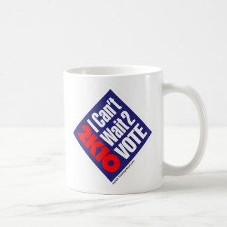 2K10 I no puede esperar el voto 2 Tazas De Café