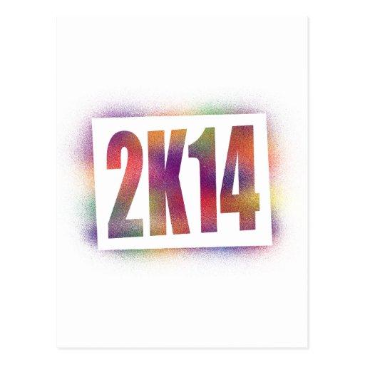 2k14 2014 postales