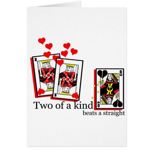 2kind tarjeta de felicitación