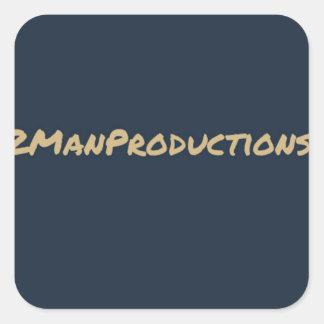 2ManProductions Pegatina Cuadrada