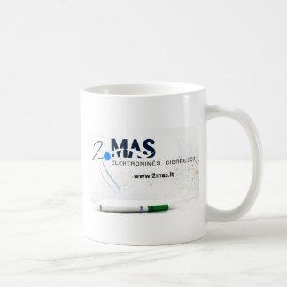 2maslt classic white coffee mug