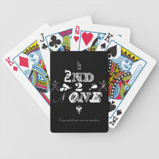 2nd 2 None - wt Bicycle Playing Cards