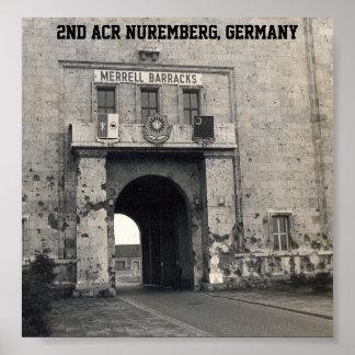 2nd ACR Headquarters Nuremberg, Germany Poster