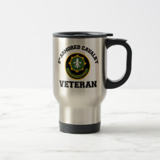 2nd ACR Vet - College Style Stainless Steel Travel Mug