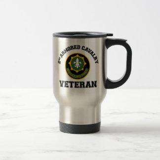 2nd ACR Vet - College Style Travel Mug