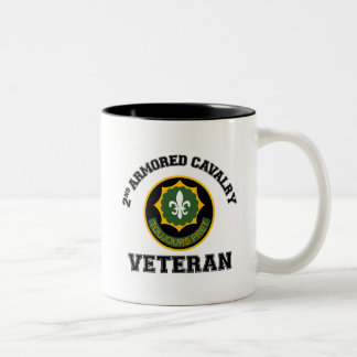2nd ACR Vet - College Style Two-Tone Coffee Mug