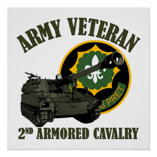 2nd ACR Vet - M109 Howitzer Posters