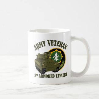 2nd ACR Vet - M2 Bradley Basic White Mug