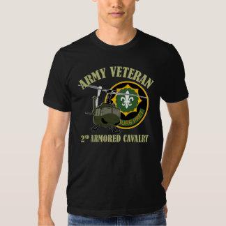 2nd ACR Vet - UH-1 Huey T Shirt